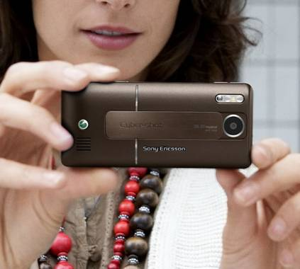 Sony Ericsson's Chocolate Brown Cyber-Shot Phone