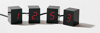 Numbers Alarm Clock: Totally Geeky Or Geek Chic?