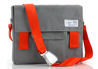 Masculine Laptop Bag: Airplane Chic?