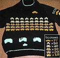 Space Invaders Sweater: Attack Of The Acrylic Aliens