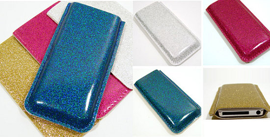 Totally Geeky or Geek Chic? Vintage Glitter Nano Case