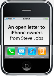Steve Jobs Offers $100 Credit To New iPhone Owners