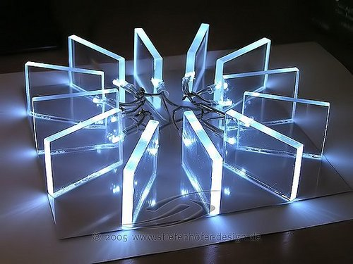 Artistic Light Modifications For A Mac Mini