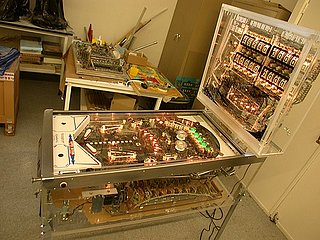 Tech News - See Through Pinball Machine All Shiny and New