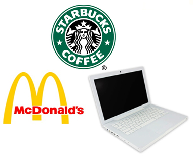 McDonald's and Starbucks to Both Offer Free WiFi?