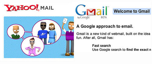 Yahoo and Google Mail to Get Social?