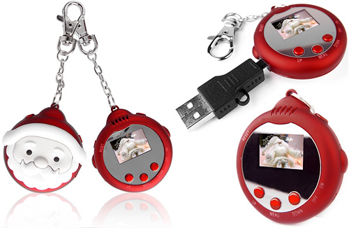 Digital Santa Photo Keychain: Love It or Leave It?