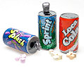Yummy Link: Soda Can Fizzy Candy