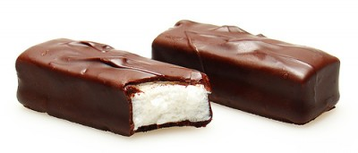 Yummy Link: Dark Chocolate Mint Three Musketeers
