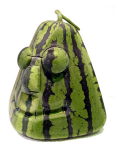 Yummy Link: Wacky Shaped Watermelon