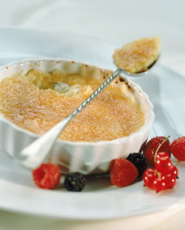 Love Is The Sound of a Spoon on Creme Brulee