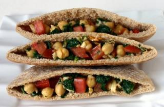 Yummy Link: Chickpea Spinach Pockets