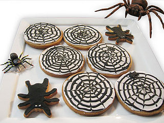 Get Caught in a Spiderweb Cookie