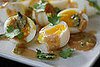 Yummy Link: Soft-Boiled Eggs With Miso, Lemon, and Cilantro