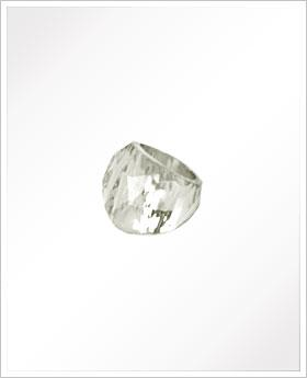 Clear Jewel Dome Ring