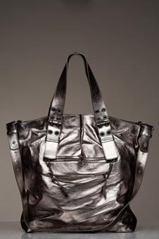 Fransesco Biasia Sharla Metallic Bag : PinkMascara