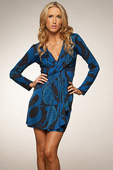 Mara Hoffman Twist Front Mini Dress