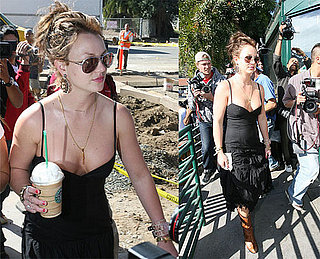 Britney Would Rather Get Starbucks Than Find Dancers