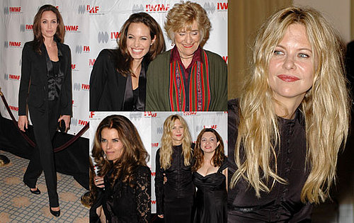 Angelina and Meg Help Honor Courageous Women