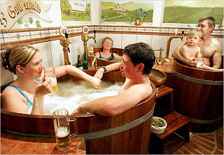 Beer Spa: Love It Or Hate It?