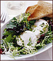 Today's Special: Poached Eggs with Pancetta and Tossed Mesclun