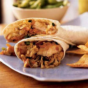 Fast & Easy Dinner: Asian Catfish Wraps