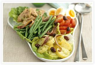 Fast & Easy DInner: Salad Nicoise