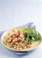 Fast & Easy Dinner: Tuna and Cannellini Bean Salad