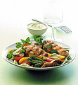 Fast &amp; Easy Dinner: Chicken Salad With Avocado Dressing