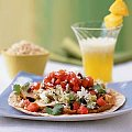 Fast & Easy Dinner: Grilled Chicken Tostadas