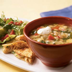 Fast & Easy Dinner: White Bean Soup