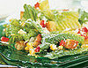 Fast &amp; Easy Dinner: Corn and Red Pepper Caesar Salad