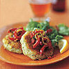 Fast &amp; Easy Dinner: Cod Cakes With Pepper Relish