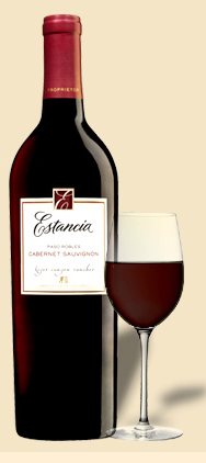 Happy Hour: Estancia Cabernet Sauvignon