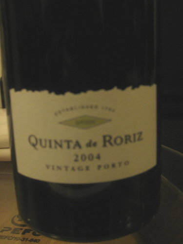 Happy Hour: Quinta de Roriz 2004 Vintage Port