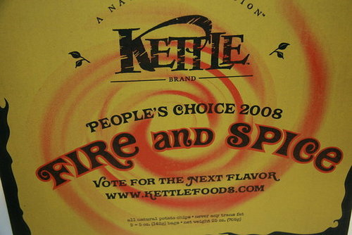Help Decide the Next Kettle Chip Flavor