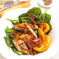 Fast & Easy Dinner: Turkey Spinach Toss
