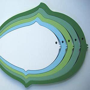 Wallter Fish Wall Application by FOLD Bedding