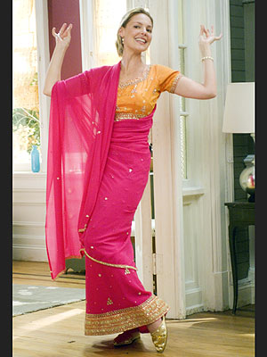 SO SARI Heigl wraps up in a traditional sari – one of the few get-ups that she really loved – for a friend's Hindi-Jewish weddi