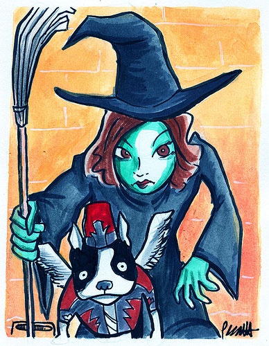Meet PetSugar, Wicked Witch of the North!