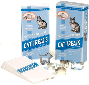 Pampered Pals: You Bake 'Em Cat Treats