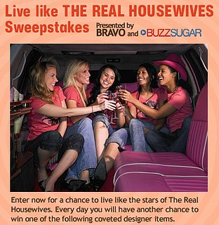 Sugar Shout Out: Live Like The Real Housewives!