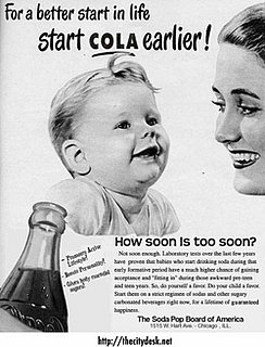 Baby Wellness: No Soda