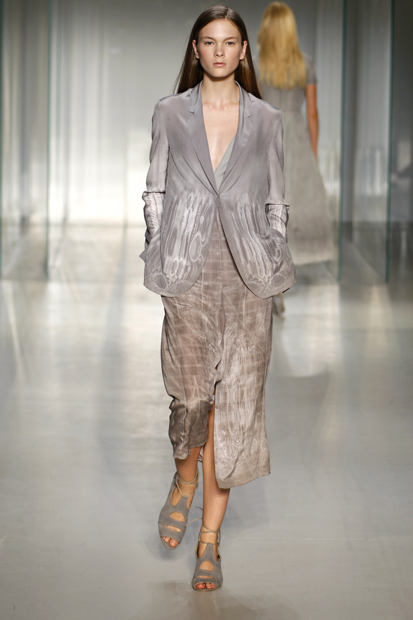 Immaterial: Calvin Klein Silk Shirt Dress
