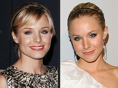 KIRSTEN BELL: BANGS OR NO BANGS?