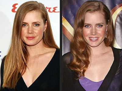 AMY ADAMS: STRAIGHT OR CURLY HAIR?
