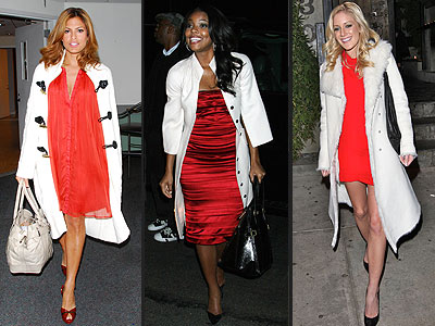 LOVE IT OR HATE IT: RED DRESSED AND WHITE COATS