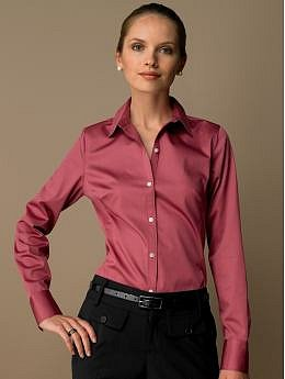 BananaRepublic.com: Fitted cotton sateen shirt