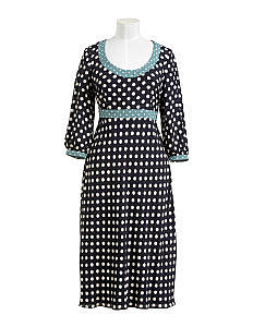 Fall Looks for Work:: Spotty Chic Dress at Boden
