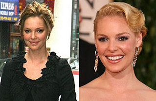 What Hair Color Looks Better on Katherine Heigl?